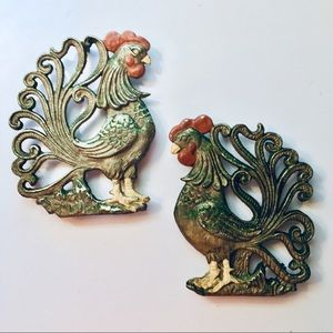 Rooster Trivets